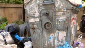 Escaninho Waste de transbordamento filme
