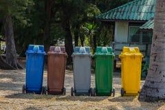Escaninhos coloridos fotografia de stock