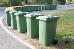 Escaninhos de lixo Imagem de Stock Royalty Free