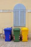 Escaninhos de recicl Imagens de Stock Royalty Free
