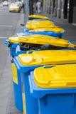 Escaninhos de recicl Imagem de Stock Royalty Free