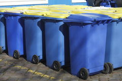 Escaninhos de reciclagem, Brema, Alemanha Foto de Stock