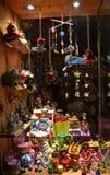 Escaparate de los juguetes Fotos de archivo libres de regalías