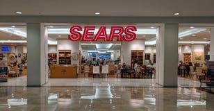 Escaparate de Sears imagen de archivo libre de regalías