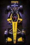 """Escaparate 2018 del ¢ del """"de Renault Sport F1â en Singapur imágenes de archivo libres de regalías"""