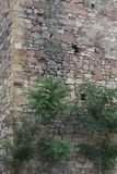 Escapatorias para las armas en torre de la fortaleza imagenes de archivo