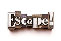 Escape Royalty Free Stock Images