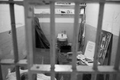 Escape from Alcatraz stock images