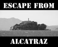 Escape from alcatraz Royalty Free Stock Photos