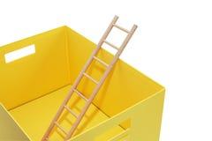 Escape From Box Stock Photos