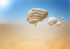 Escape of brain Stock Photography