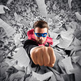 Escape from bureaucracy Stock Image