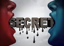Escape confidencial clasificado Imágenes de archivo libres de regalías