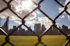 Escape da cidade Foto de Stock