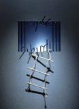 Escape da prisão Imagem de Stock Royalty Free