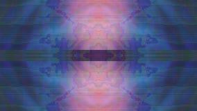 Escape de fascinação da luz do teste padrão que vislumbra o fundo Anima??o dada la?os filme