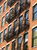 Escape de fogo, SoHo, New York City Imagens de Stock