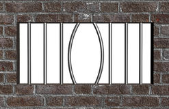 Escape de la prisión Imagen de archivo libre de regalías