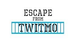 Escape de Twitmo fotografia de stock royalty free