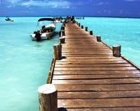 Escape del Caribe Imagenes de archivo