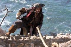 Escape del pirata Fotografía de archivo libre de regalías