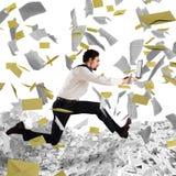 Escape del trabajo excesivo y de la burocracia Fotografía de archivo libre de regalías