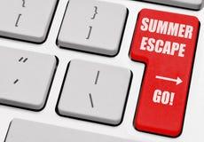 Escape del verano Fotos de archivo libres de regalías