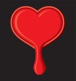 Escape do coração Imagem de Stock