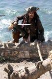 Escape do pirata fotografia de stock