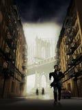 Escape en Brooklyn Fotografía de archivo