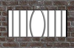 Escape från fängelse Royaltyfri Bild