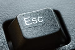 Escape key Stock Images