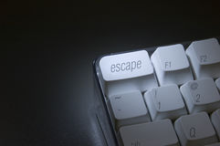 Escape Key Close-Up stock photos