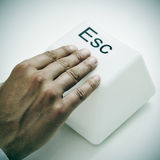 Escape key Royalty Free Stock Image