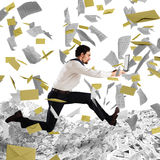 Escape from overwork and bureaucracy Royalty Free Stock Photography
