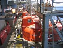 Escape a pouca distância do mar Lifeb da plataforma Imagem de Stock
