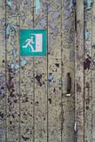 Escape route stock photo