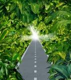 Escape a selva ilustração royalty free