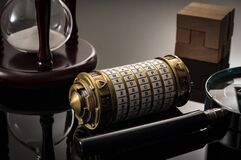 Free Escape The Room Or Escape Game, Is A Physical Game Where Players Are Locked In A Room And A Required To Examine Clues And Solve A Stock Images - 188064904