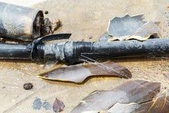 Escapes de la fontanería Fotografía de archivo libre de regalías