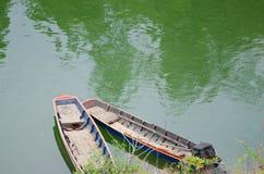 Escapes del barco de rowing Imagenes de archivo
