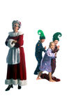 Escaping  Elves Royalty Free Stock Photography
