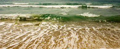 Escaping wave Royalty Free Stock Photography