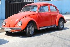 Escarabajo de VW a partir de la segunda guerra en el museo de SinsHeim Fotografía de archivo libre de regalías