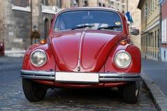 Escarabajo de VW Volkswagen viejo Imágenes de archivo libres de regalías