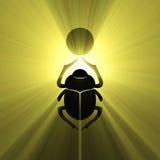 Escarabajo egipcio del escarabajo del símbolo libre illustration