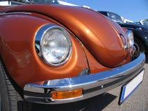 Escarabajo, Volkswagen, diseño clásico, primer Fotografía de archivo libre de regalías