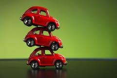 3 escarabajos de Volkswagen Imagenes de archivo