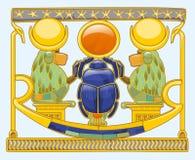 Escaravelho com babuínos Ilustração Royalty Free