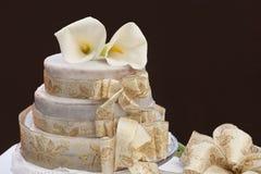 Escardar la torta Imagen de archivo